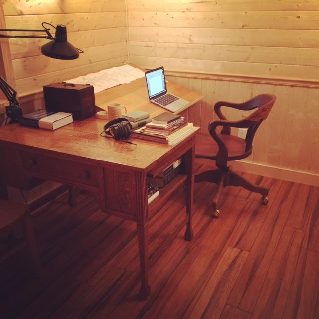 Vaun's desk