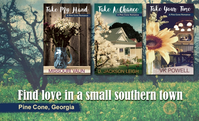 Pine Cone Romance covers